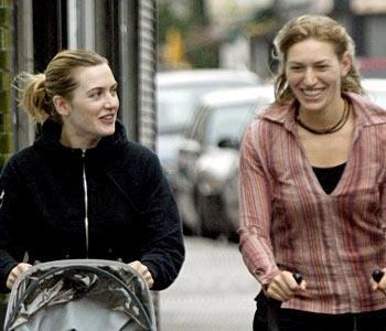 Kate Winslett ve kardeşi